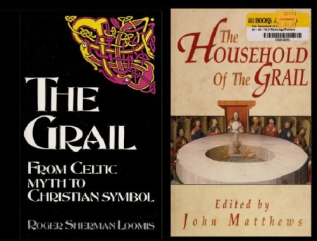 Grail myth- books-1
