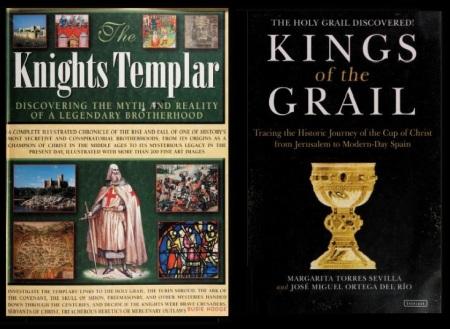 Grail myth- books-2