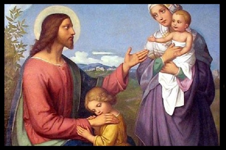 Jesus with family Merovingian dynasty