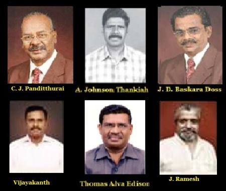 Pandithurai, Johnson, Baskara, Vijayakanth, Thomas, Ramesh