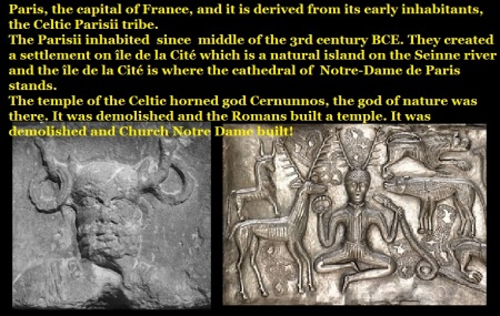 Celtic horned god Cernunnos