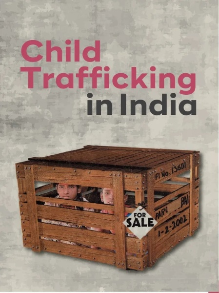 Child traficking in India