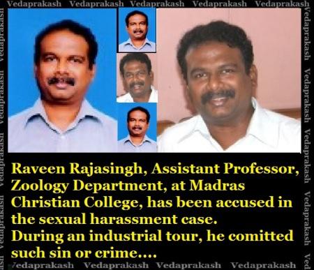 Raveen Rajasigh, Christian Collge, Madras