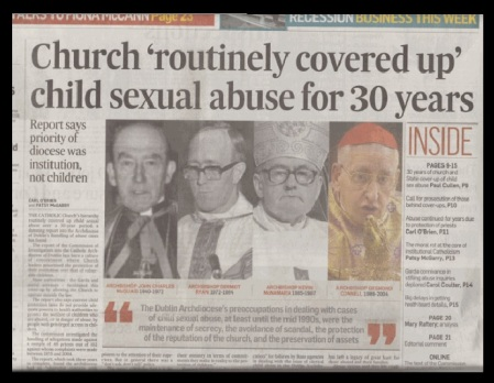 Church covers up pedophiles