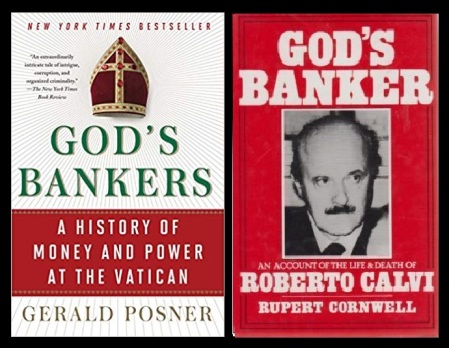 Vatican bank -nexus with other organizations-books