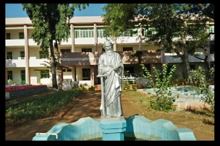 St Paul seminary- statue