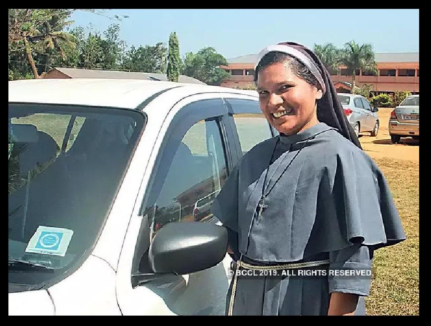 Nun Lucy book-sister