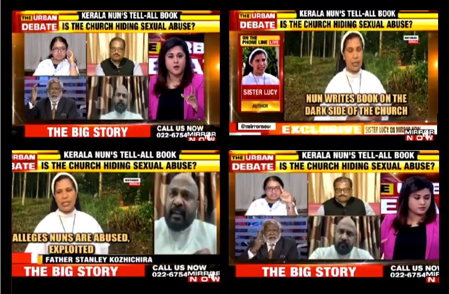 Nun Lucy debate on Times now-2