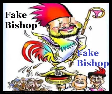 Yobu with actresses, dance, Fake bishop